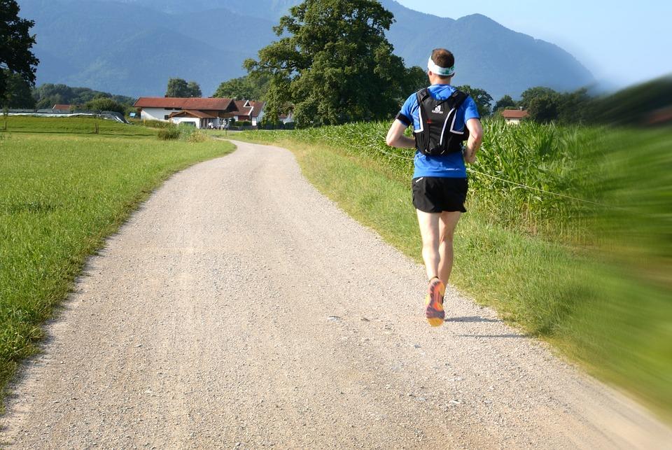 běh jogging