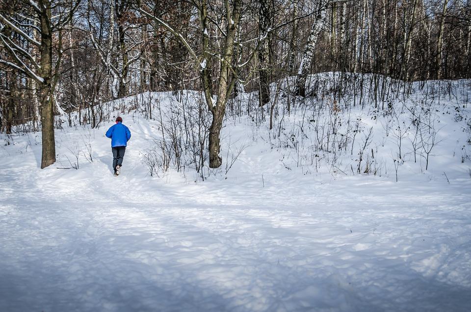 Oblečení a běh v zimě