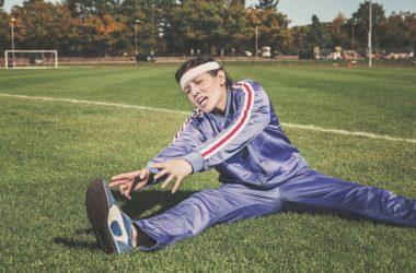 sport ve správném oblečení
