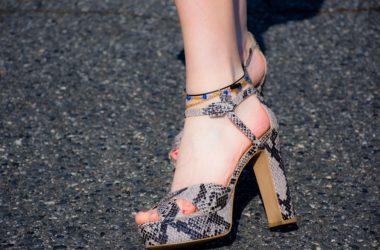 Sandálky na podpatku