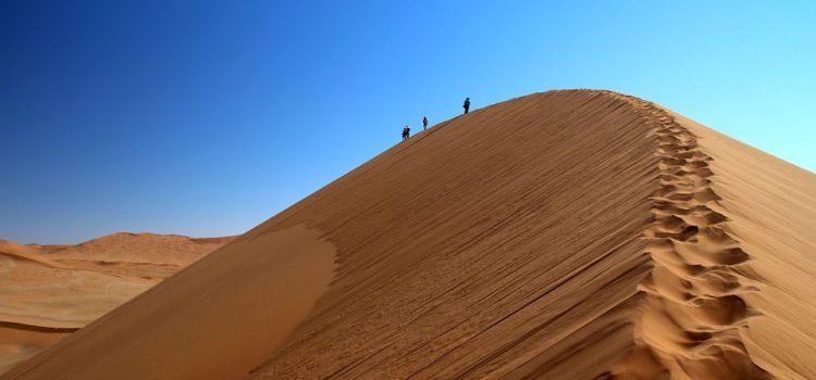 Bezpečná poušť Afrika